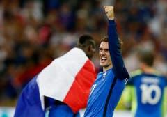 Zwar blieb der 25-jährige Stürmer im Finalspiel ohne Tor, hat mit insgesamt sechs Treffern aber am meisten Tore an der EM erzielt. Dafür erhielt er den Goldenen Schuh der Uefa Euro 2016. (Bild: Keystone)
