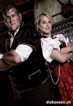 Christian Stucki und Sabrina Merz. (Bild: dieboesen.ch/Ellin Anderegg)