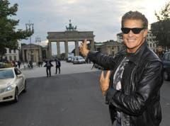 Ein Schnappschuss am Brandenburger Tor in Berlin. (Bild: Keystone)