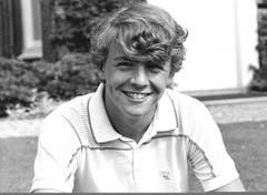 Prinz Johan Friso am 5. Juli 1985. (Bild: Keystone)