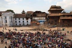Nepal Earthquake Economy (Bild: Keystone)