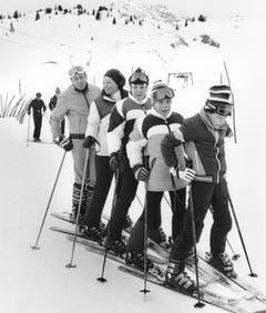 22. Dezember 1981: Bereits als Kind machte Prinz Johan Von linkd: Prinz Claus, Königin Beatrix, Prinz Willem-Alexander, Prinz Johan Friso und Prinz Constantijn. (Bild: Keystone)
