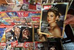 Die gebürtige Argentinierin Maxima ziert zahlreiche Titelseiten. (Bild: Keystone)