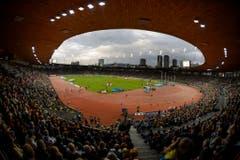 Volles Haus: Das Zürcher Letzigrund Stadion. (Bild: Keystone)