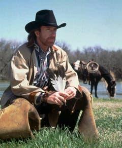 """""""Chuck Norris hat bis Unendlich gezählt. Zwei mal."""" (Bild: Keystone)"""
