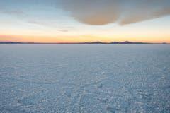 Der Salar de Uyuni in Bolivien. Er ist die grösste Salzpfanne der Erde. (Bild: Cyrill Schlauri)