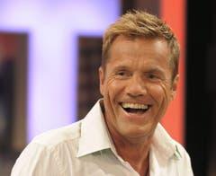 Er soll die Hand gegen Verona Feldbusch erhoben haben: Der deutsche Popmusiker, Produzent und TV-Juror Dieter Bohlen. (Bild: Keystone)