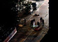 Explosion in Manhattan (Bild: Keystone)