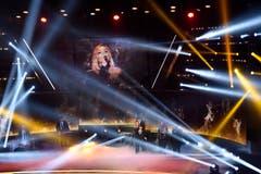 Showact Leona Lewis. (Bild: Keystone)