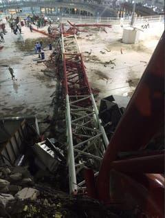 APTOPIX Saudi Crane Collapse (Bild: Uncredited (AP))