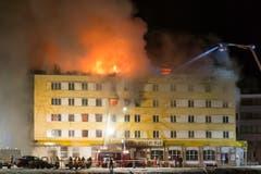 SCHWEIZ AROSA BRAND HOTEL (Bild: Keystone)