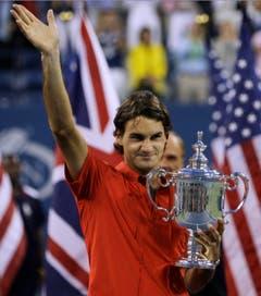 2008 US Open gegen Andy Murray (GBR) 6:2, 7:5, 6:2. (Bild: Charles Krupa / Keystone)