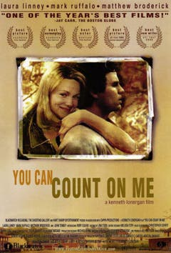 "Zu guter Letzt ein Filmplakat aus dem Jahr 2000: Die Proportionen von Schauspielerin Laura Linney in ""You Can Count on Me"" stimmen nicht. (Bild: pd)"