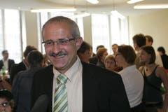 Stadtratswahlen 2006: Nino Cozzio wird im ersten Wahlgang gewählt. (Bild: Ralph Ribi/Archiv)
