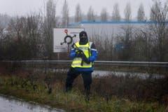 Police hunt for Charlie Hebdo suspects (Bild: Keystone)