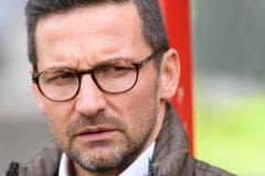 """""""Es gibt keine Strömungen gegen mich."""" St.Gallens damaliger Trainer Joe Zinnbauer am 11. April, nachdem bekannt wurde, dass sein Fürsprecher Dölf Früh zurücktritt. (Bild: Keystone)"""