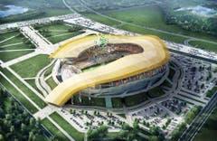 Rostow am Don (1,1 Mio. Einwohner)Stadion: Rostow ArenaKapazität: 45'000Kosten (Neubau): 320 Mio. FrankenEröffnung: noch im BauKlub: FC RostowWM-Spiele: Gruppenphase (4), Achtelfinal (1) (Bild: Handout Fifa)