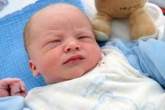 Michael, 16.10.10, 3420 g (Klinik Stephanshorn) (Bild: Ralph Ribi)