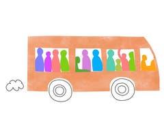 Kaapshljmurslis - Lettisch: Ein Wort, das das unangenehme Gefühl beschreibt, in überfüllten öffentlichen Verkehrsmitteln eingequetscht zu sein. (Bild: pd)