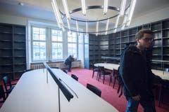 Bibliothek (Bild: Benjamin Manser)