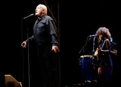 Joe Cocker bei seinem Auftritt am Arboner Summerdays-Festival im August 2013. (Bild: Donato Caspari)