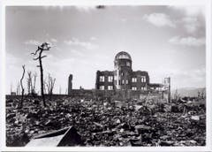 Viel blieb in Hiroshima nicht stehen. (Bild: Keystone)