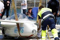 Erste Bilder vom Unglücksflugzeug. (Bild: Rudolf Hirtl)