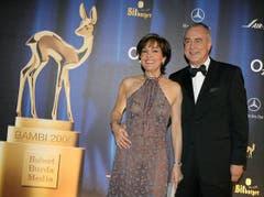 Bei der Bambi-Verleihung im Jahr 2006. (Bild: Keystone)