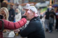 Jahrmarkt Leute Stimmung (Bild: Michel Canonica)