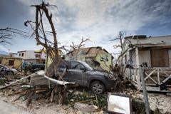 Nach dem Sturm auf der Karibikinsel St.Maarten. (Bild: GERBEN VAN ES (AP Dutch Defense Ministry))