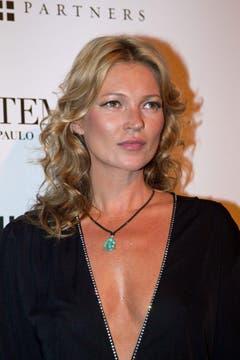 Geerdet: Kate Moss ist ruhiger geworden, Absturz-Partys seltener. Aber gealtert scheint sie kaum. (Bild: Keystone)