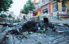 G20-Gipfel - Schäden im Schanzenviertel (Bild: Keystone)