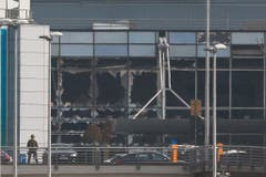 Explosions at Brussels Airport (Bild: Keystone)