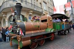 Olten gestern und heute mit 157 Jahre Eisenbahn. (Bild: Ralph Ribi)