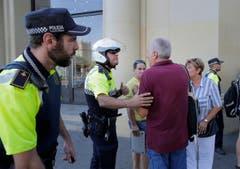 Spain Barcelona Pedestrians Hit (Bild: Keystone)