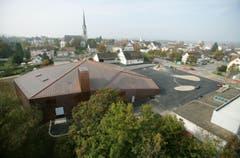 Amriswil TG - Das Pentorama in Amriswil, gesehen aus einer Höhe von 32 Meter. (Bild: Reto Martin (Reto Martin))
