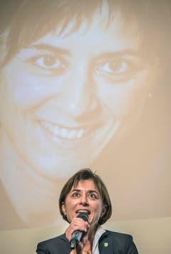 """Am """"Who is Who 2017"""" der Thurgauer Zeitung wurde Regierungsrätin Monika Knill zur Thurgauerin des Jahres 2017 gekürt. (Bild: Reto Martin)"""