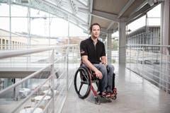 """Sein Credo: """"Ich will als Sportler respektiert und nicht als Behinderter bewundert werden."""" (Bild: Manuela Jans- Koch (LZ))"""
