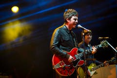 Prominenter Name im Sittertobel: Noel Gallagher und die High Flying Birds. (Bild: Peer Füglistaller)