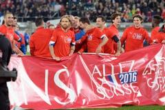 Allez la Suisse: Die Schweizer Nati ist an der EM 2016 in Frankreich dabei. (Bild: Keystone)
