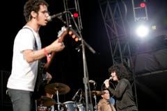 The Mars Volta traten auf der Sitterbühne auf. (Bild: Luca Linder)