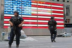 MANHATTAN EXPLOSION SECURITY (Bild: Keystone)