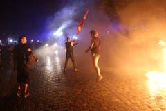 G20-Gipfel - Aktivisten (Bild: Keystone)
