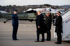 TRUMP (Bild: AP Photo/Evan Vucci)