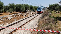 ITALY TRAIN CRASH (Bild: Keystone)