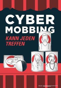 Seraina Flury, Shauna Fraefel und Carmen Konrad (Flade Gallus St.Gallen) brachten zusammen mit Simen Zürcher (Absolut Agentur GmbH) Büchsenwerfen in Verbindung mit Cybermobbing. (Bild: pd)