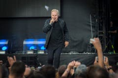 Herbert Grönemeyer gibt ein Konzert in der AFG Arena. (Bild: Andrea Stalder)