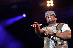 50 Cent sorgte für einen unvergesslichen Auftakt des Open Airs. (Bild: Reto Martin)