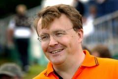 Prinz Johan Friso am 24. Juli 2002. (Bild: Keystone)