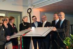 St. Gallen - Einweihung der neuen Stadtbibliothek in der Hauptpost (Bild: Ralph Ribi)